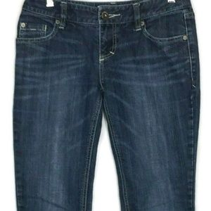 Mossimo Juniors Skinny Straight Stretch Jeans Sz 5